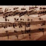 手書きピアノ楽譜