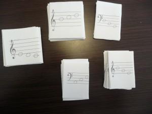 ピアノ譜読みカード